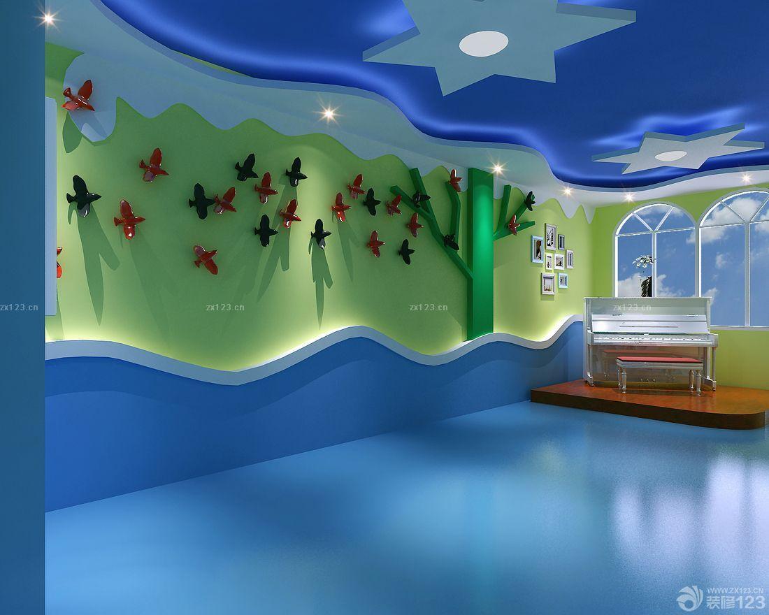 混搭风格幼儿园教室主题墙布置图片