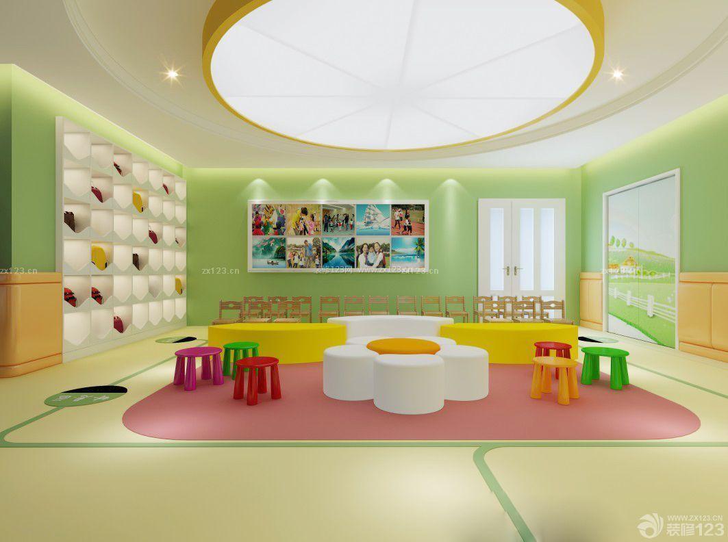 最新幼儿园中班教室布置图片