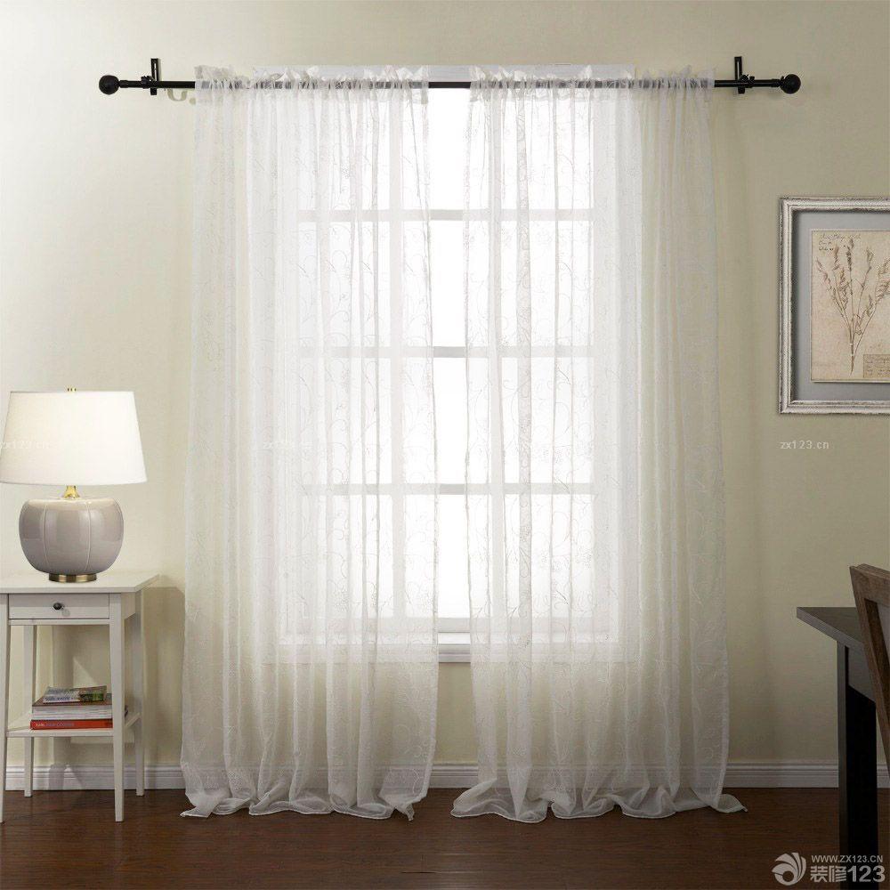 小户型卧室飘窗日韩窗帘设计效果图欣赏