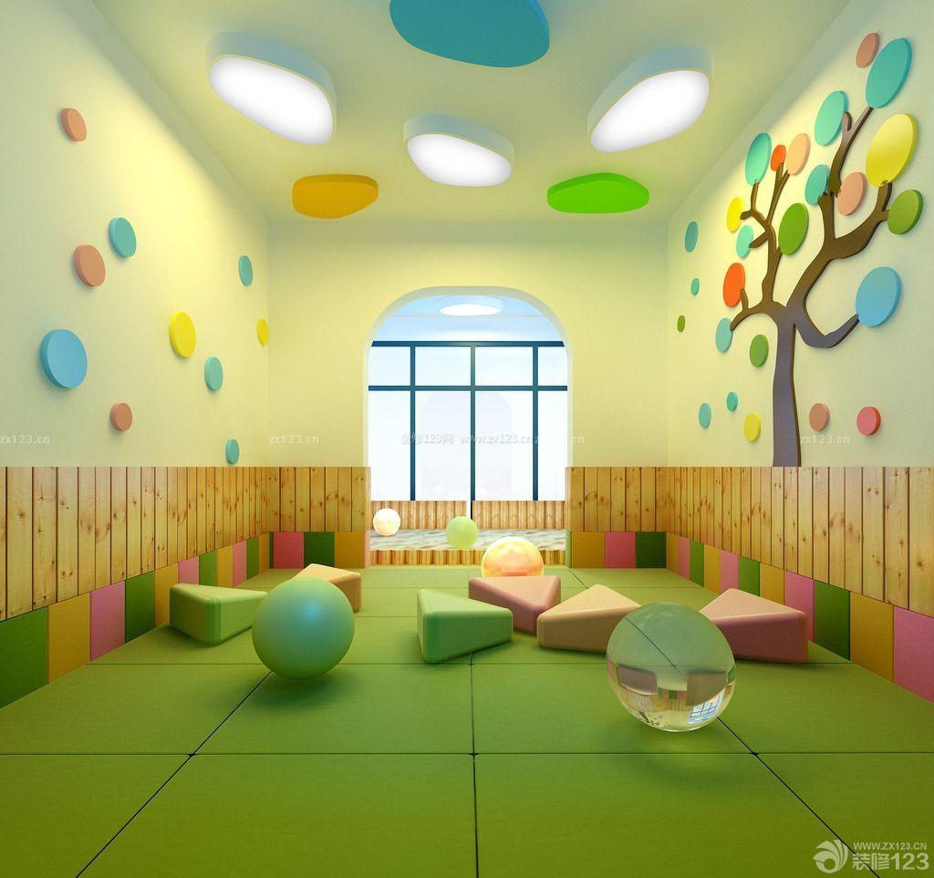 最新幼儿园教室墙饰布置设计图片大全