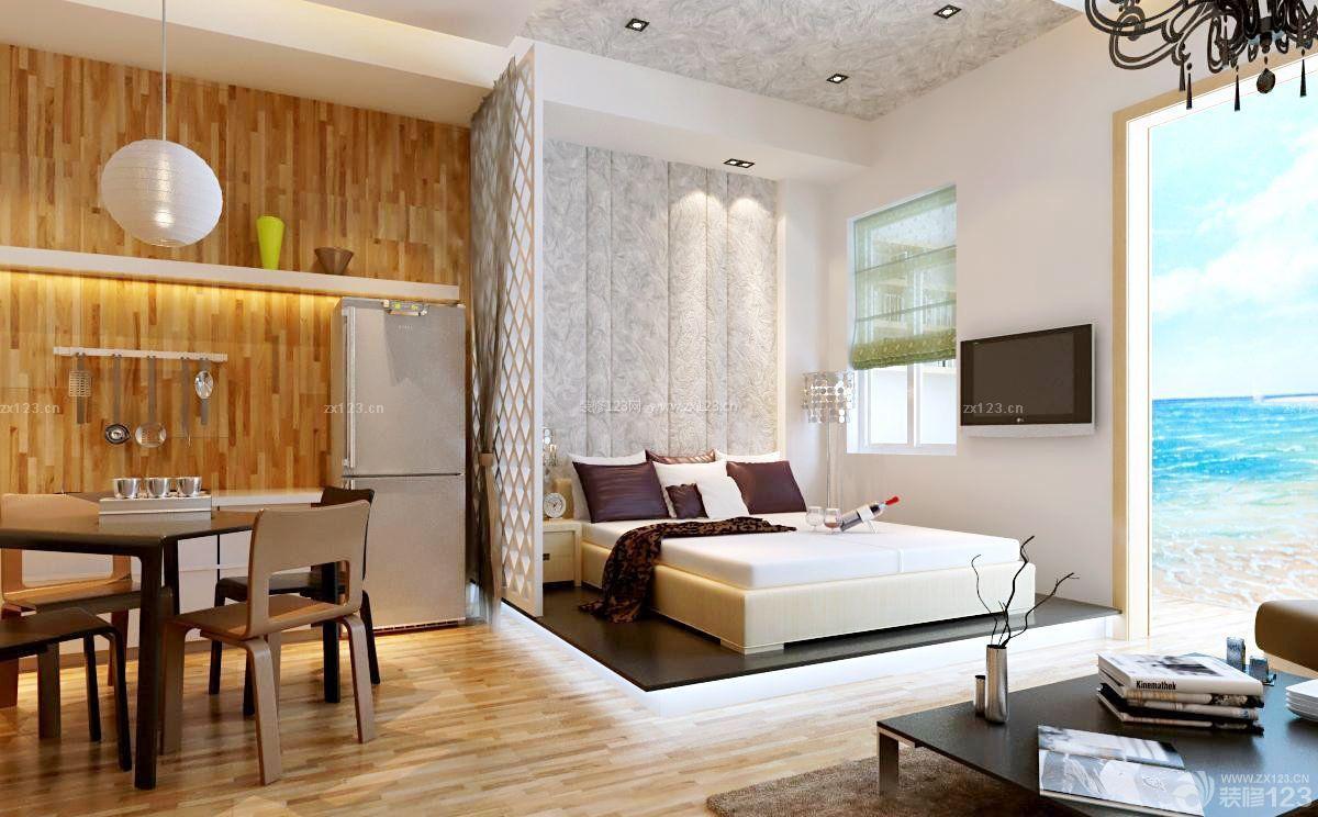 现代风格一居室小户型设计图欣赏