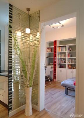 70平米裝修樣板房 書房設計