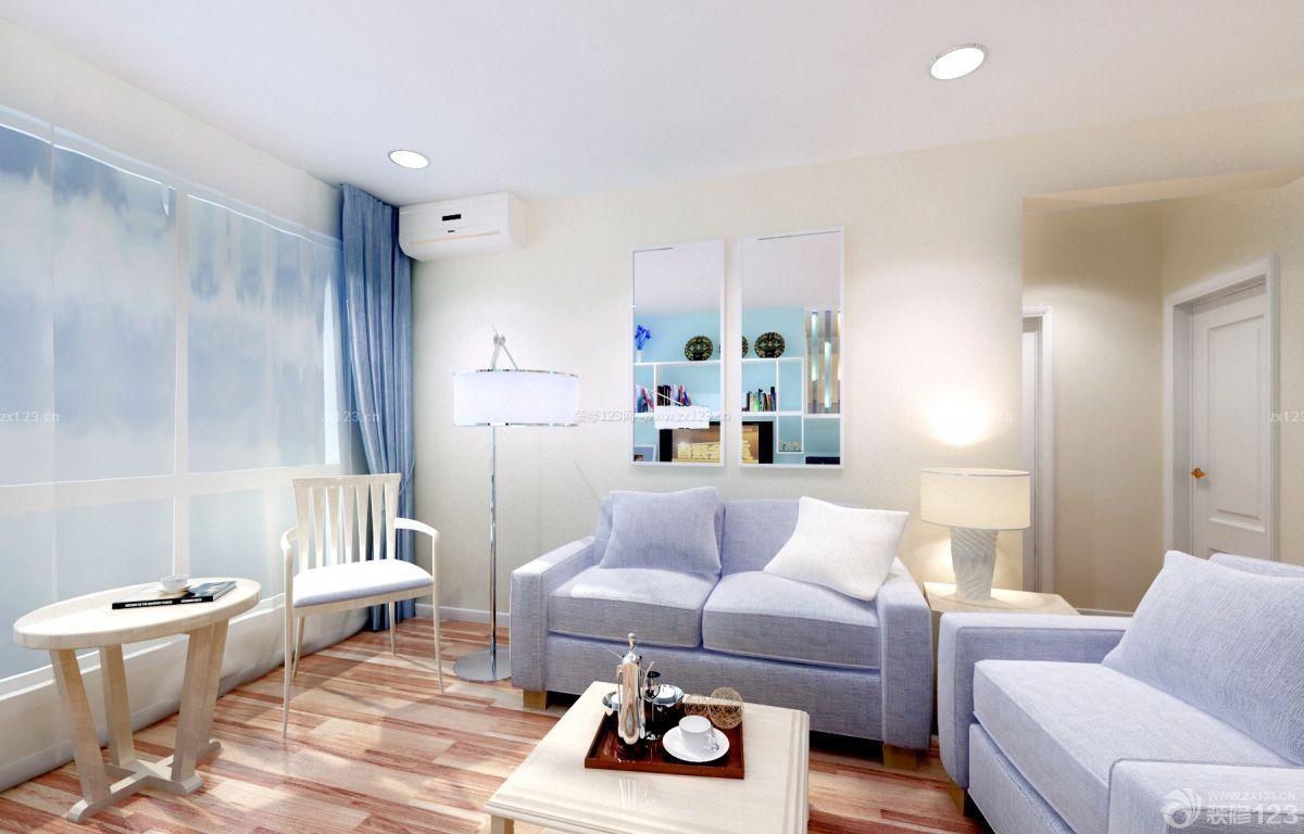 最新简约风格客厅墙角线装修图片大全_装修123效果图