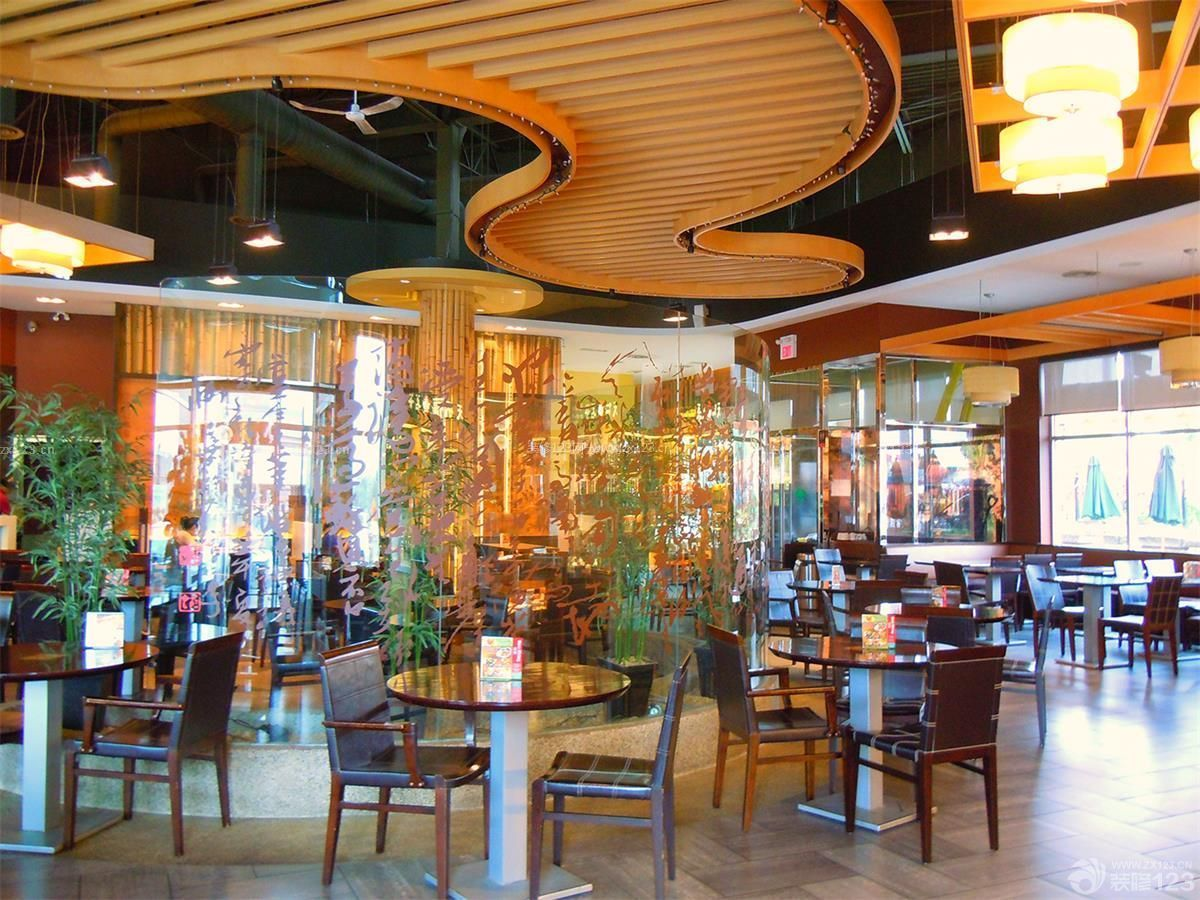 创意个性奶茶店装修图片大全吊灯设计