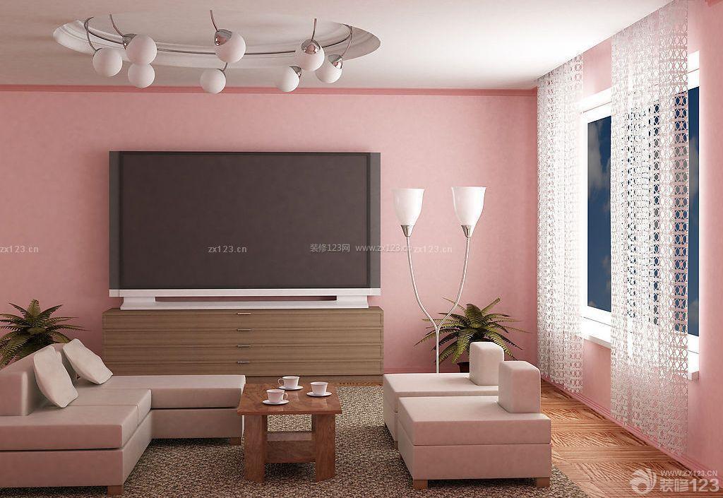 简约风格客厅墙角线装修效果图
