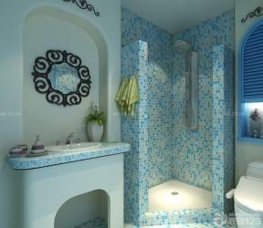 馬賽克門框 地中海風格設計