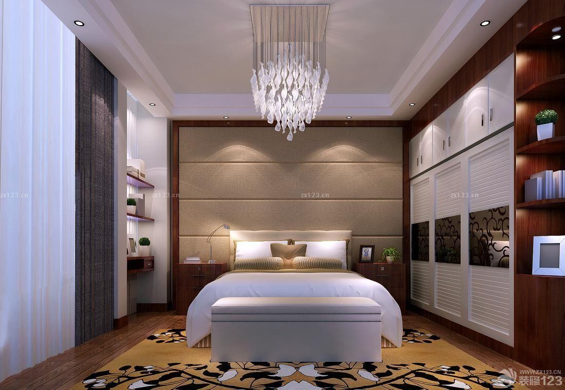 主卧室衣柜柜门设计图片大全_装修123效果图