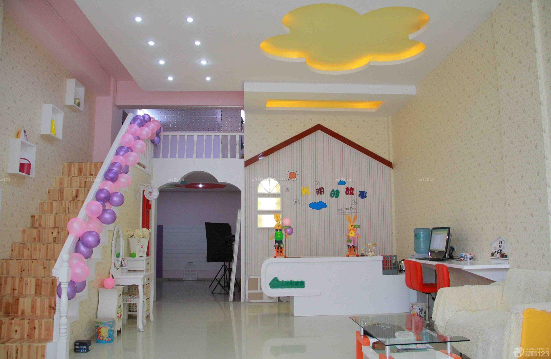 韩式风格孕婴店装修效果图