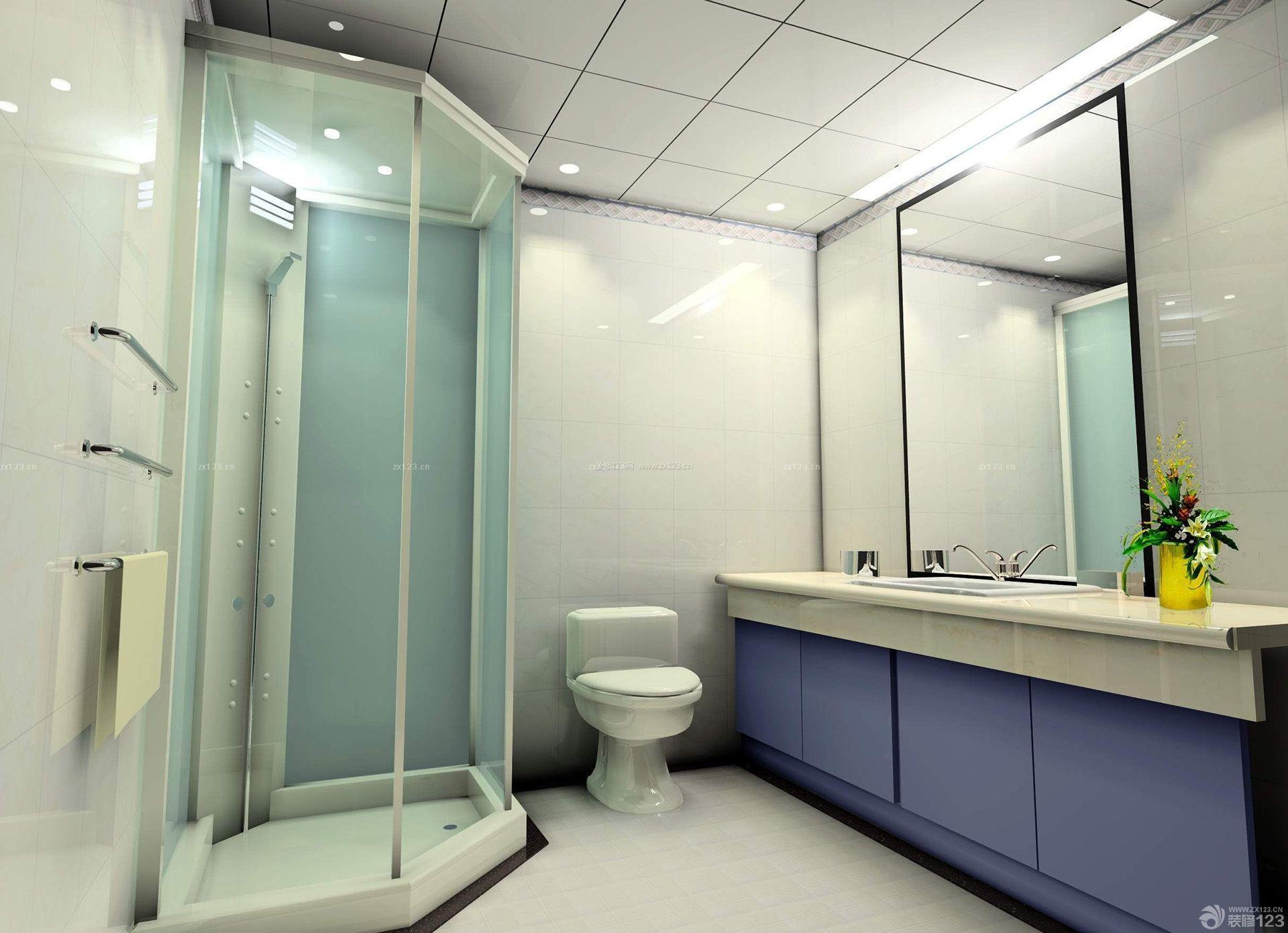 普通家庭整体浴室装修效果图