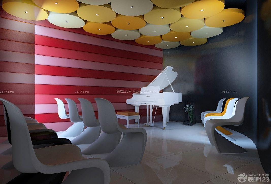 音乐教室布置设计效果图