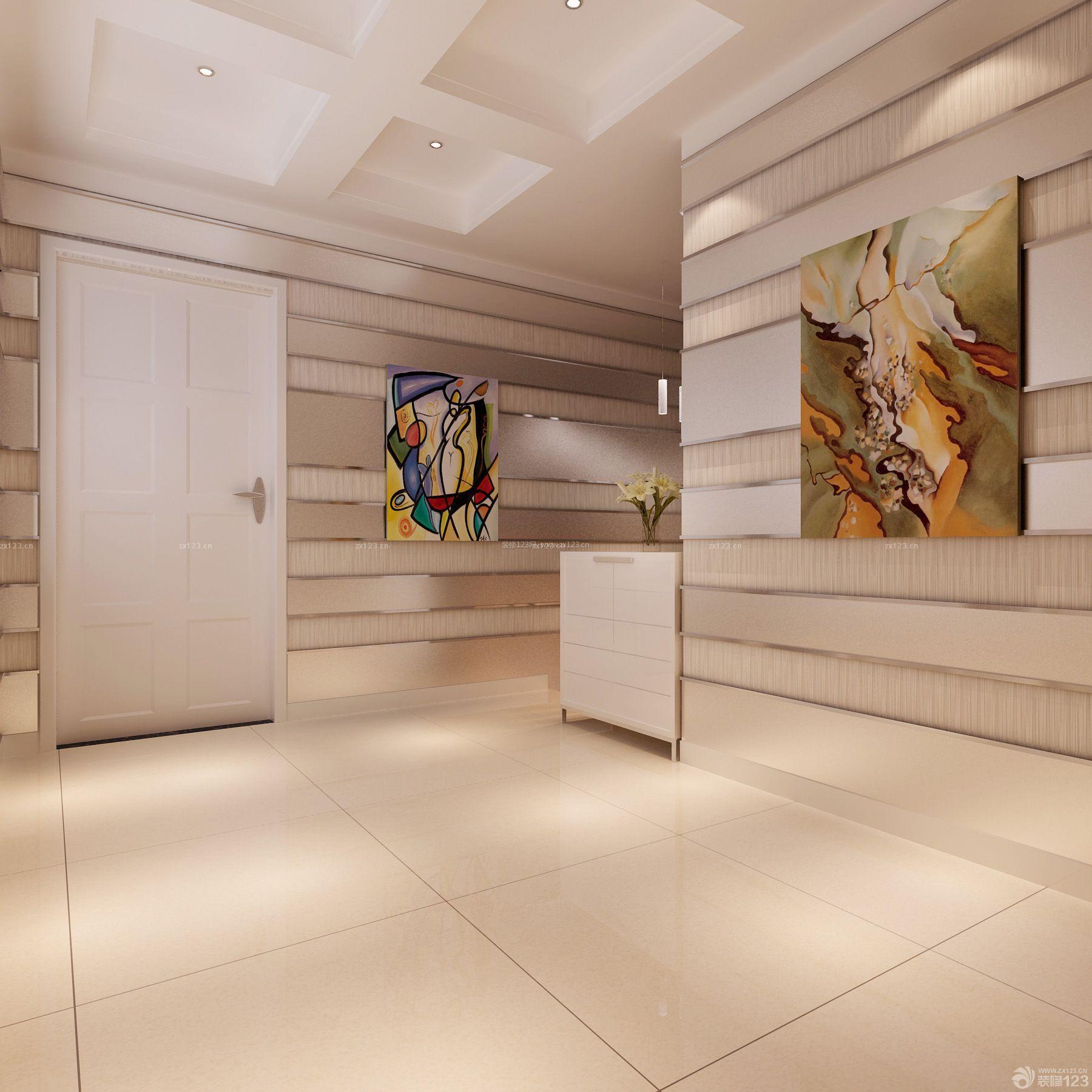 室内过道吊顶造型装饰设计效果图