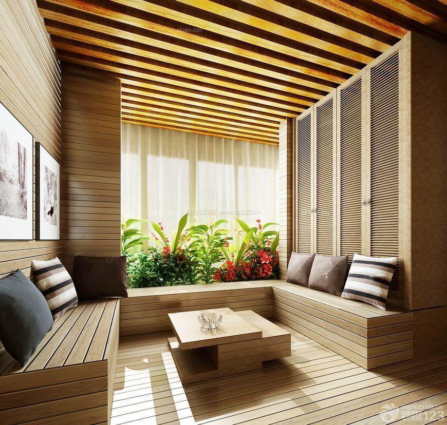 日式洋房入户花园设计图