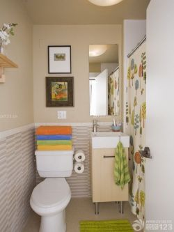 衛生間浴室隔斷浴簾圖片