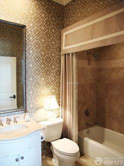 家居浴室浴帘图片