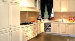 歐式整體廚房櫥柜柜門設計案例