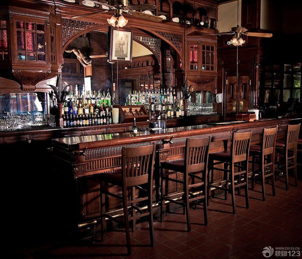 欧式小酒吧装修风格设计图欣赏