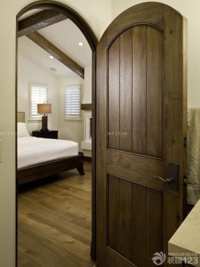 室內房門 原木門