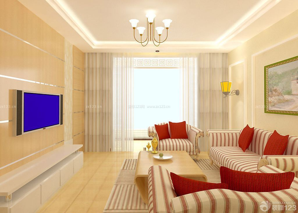 100平米房屋室内装修设计图