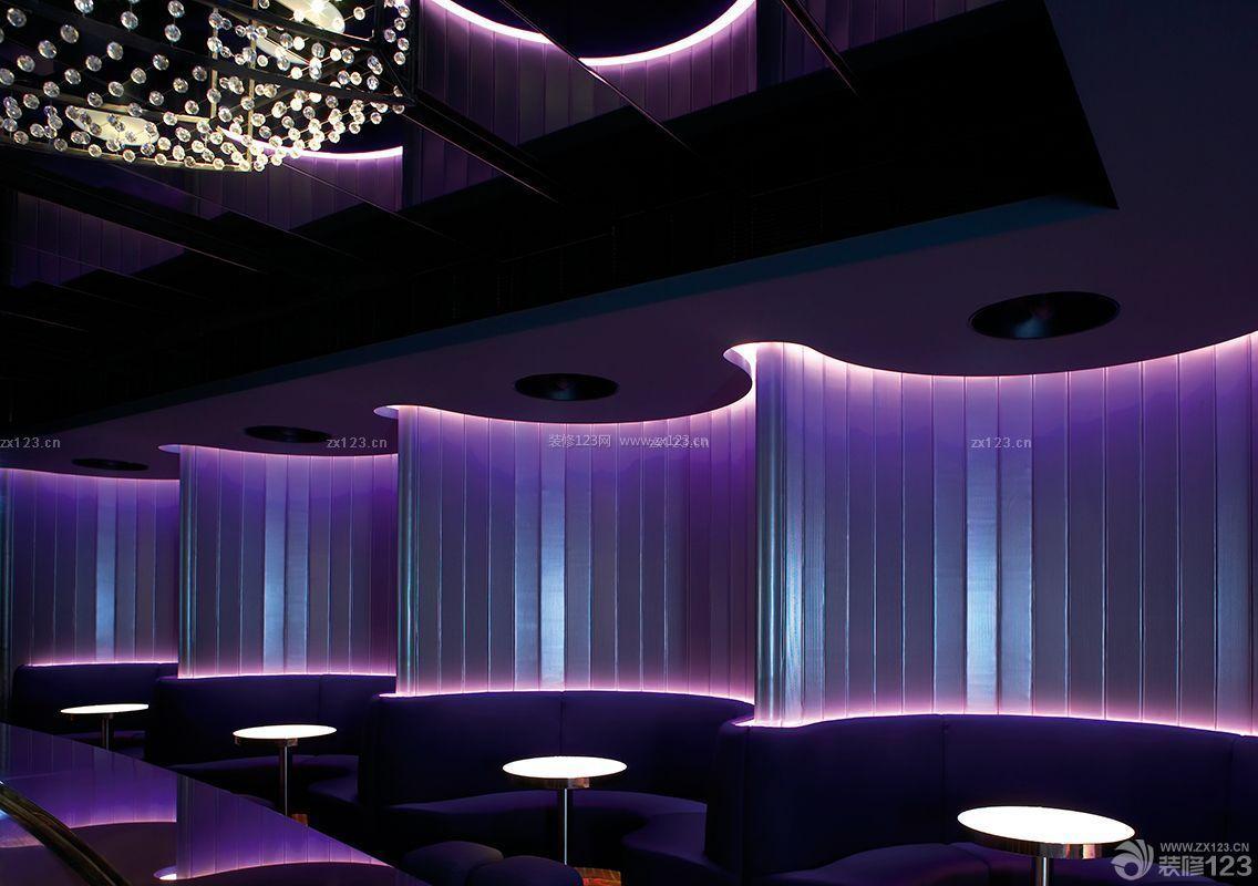 时尚特色酒吧灯光设计效果图