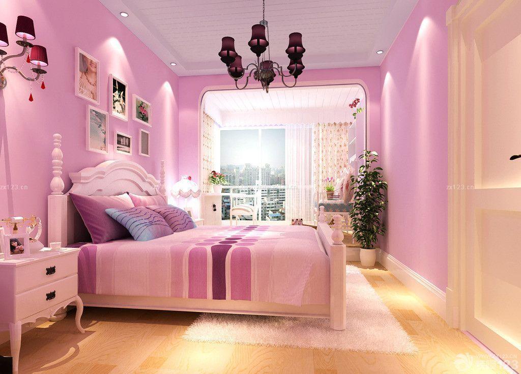 女孩卧室房屋室内装修设计图图片