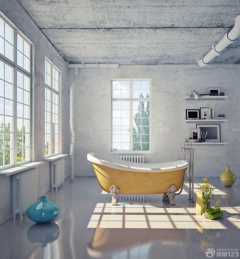 loft风格房屋室内装修设计图