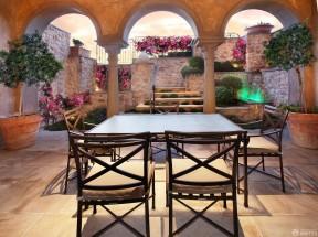 折疊餐桌 別墅內部