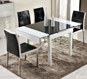 折疊餐桌 現代簡約風格