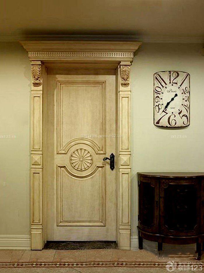 最新欧式室内门框设计效果图