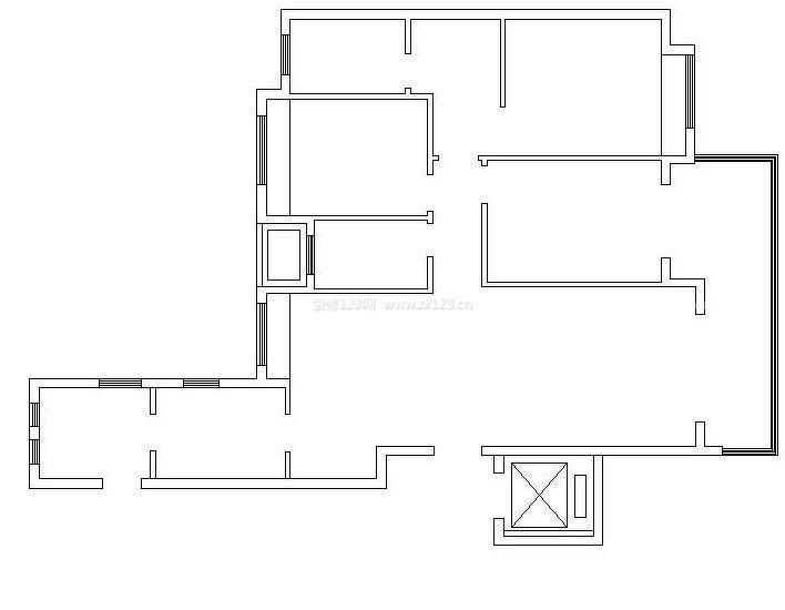 农村平房房屋格局设计图