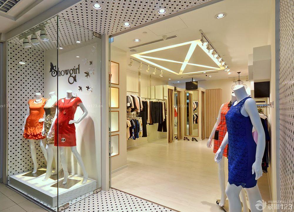 小面积服装店简约装修设计图欣赏