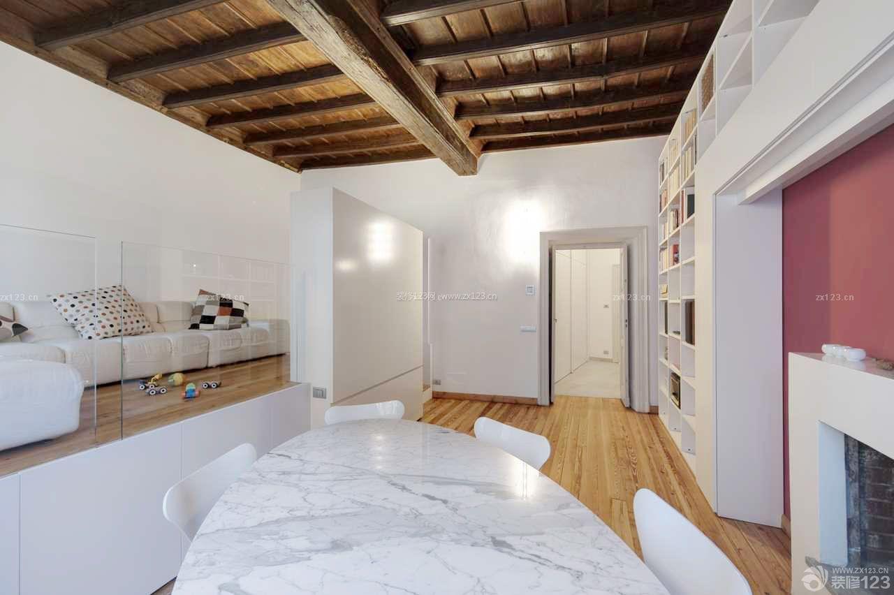 现代风格25平米小户型公寓装修实景图