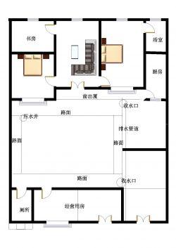 东北农村平房房屋设计图