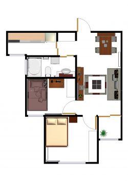 自建农村平房房屋设计图图片