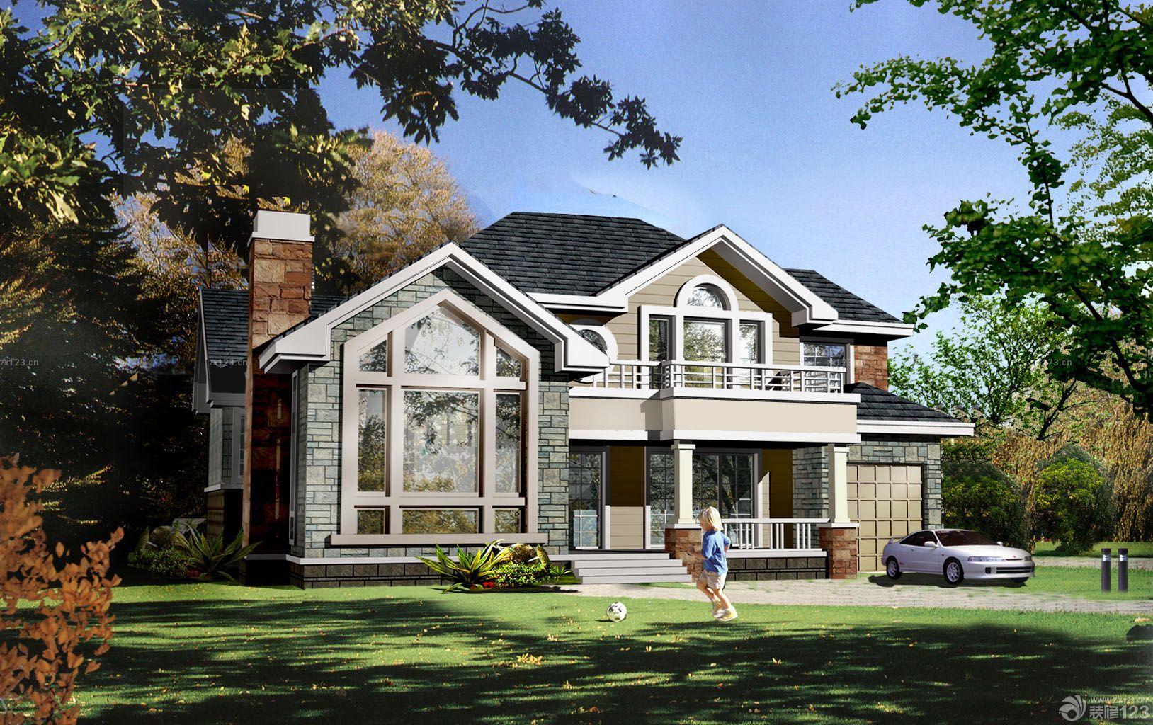 新农村别墅外观设计效果图
