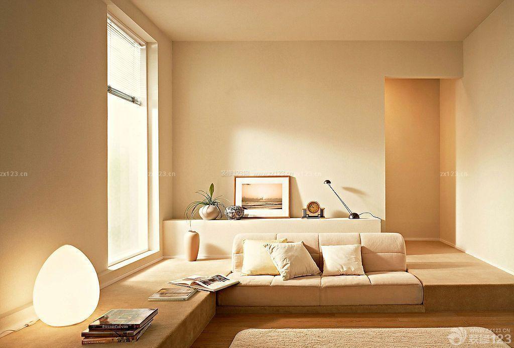 风骚黄色小�_超温馨日本超小户型装修黄色墙面图片欣赏