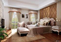 臥室床頭軟包背景墻設計圖