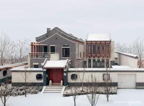 農村別墅外觀 北方農村房屋
