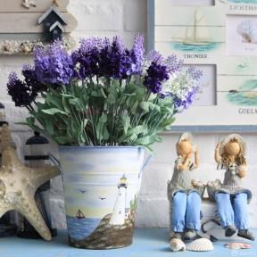 花瓶 地中海风格装饰