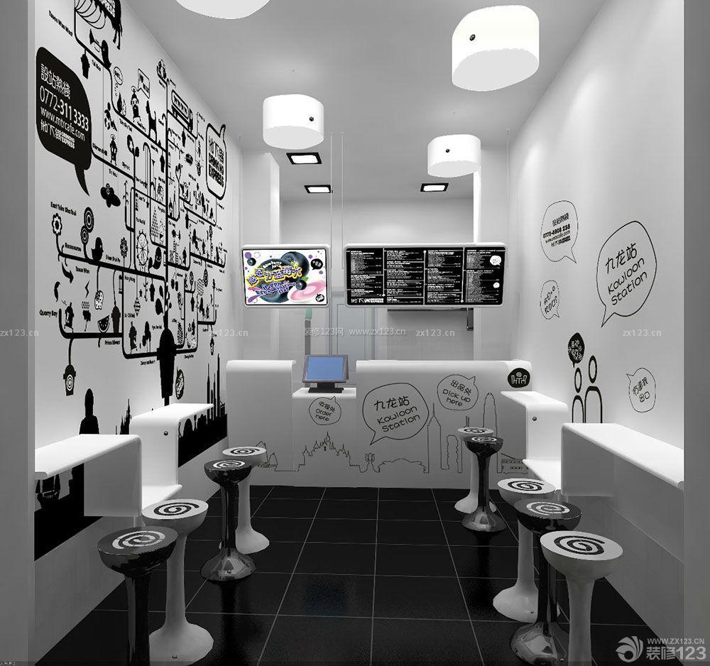 正方形客厅酒柜装修设计图_装修123效果图