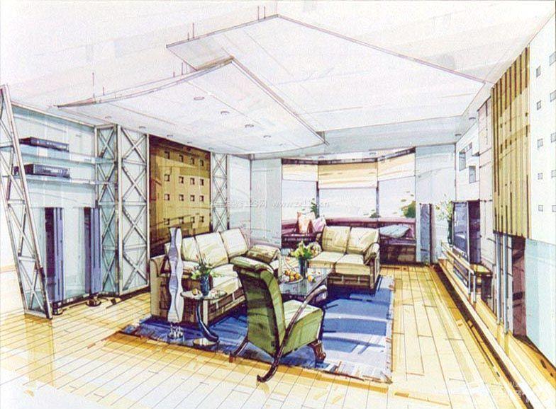 家居展示设计手绘效果图