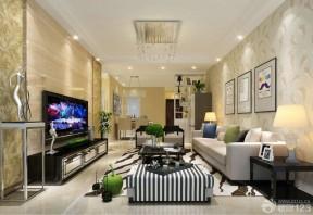 70平米房子裝修 客廳裝修樣板房