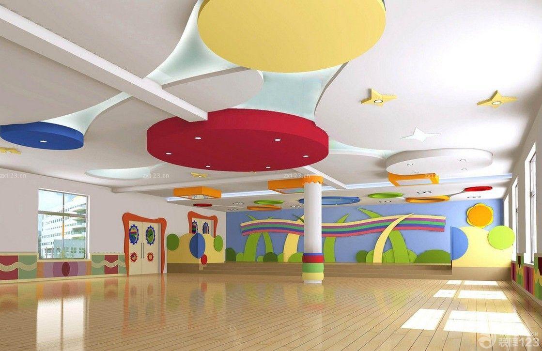 幼儿园舞蹈教室墙体彩绘效果图