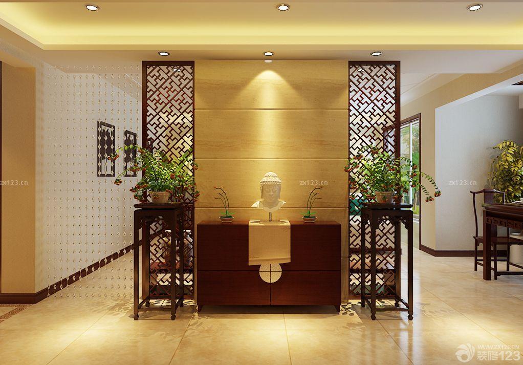 新中式风格花园设计图展示