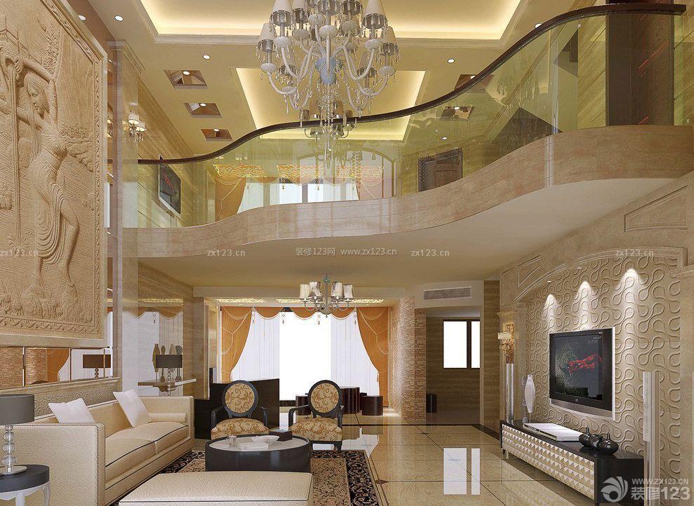 80复式楼欧式沙发背景墙装修设计图片图片