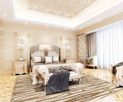 歐式風格臥室家具雙人床設計圖