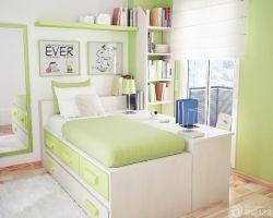 現代最新10平米兒童房榻榻米床設計圖