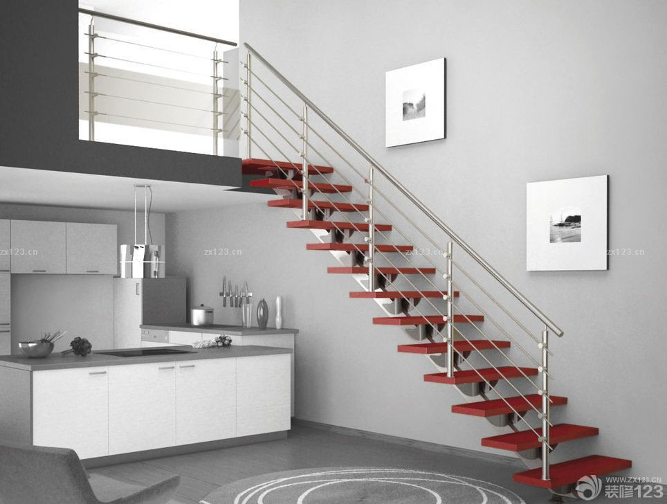 120平米复式楼平面设计图展示图片
