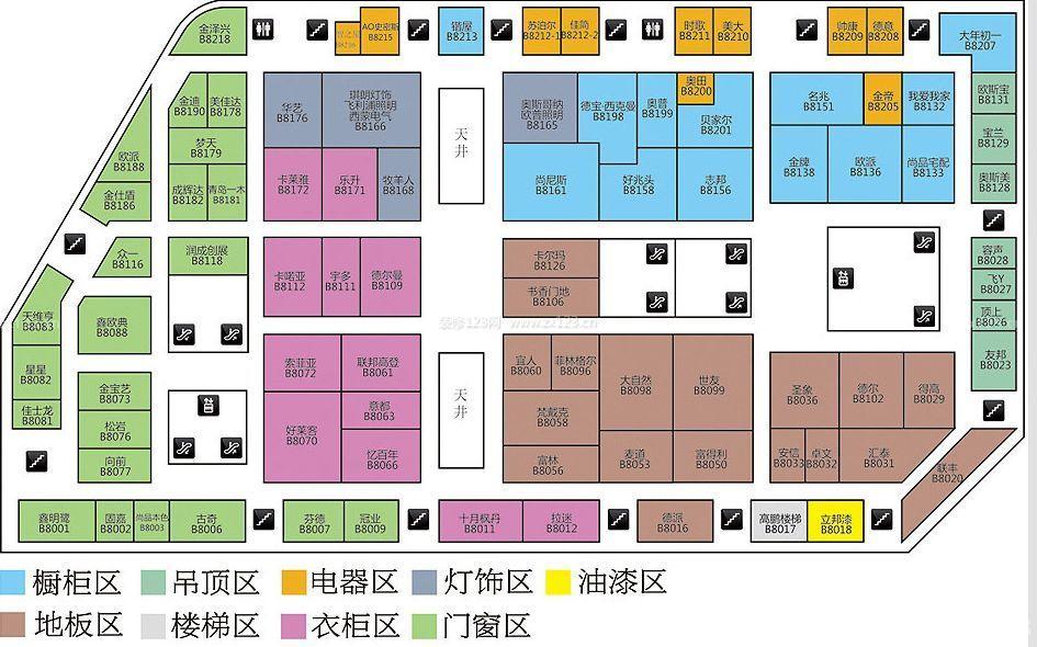 商场平面图