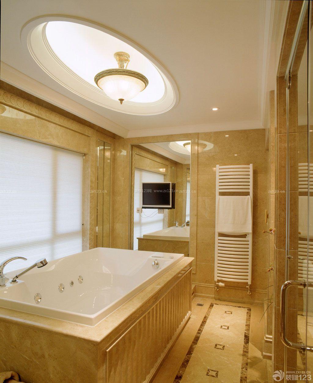 家庭浴室东鹏瓷砖装修效果图