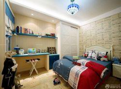 地中海風格兒童房美式壁紙設計圖欣賞